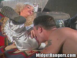Farm Boy Fucks a Midget Outdoors